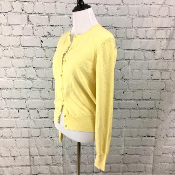 CAbi - Cabi pastel light yellow cardigan M from Lisa's closet on ...